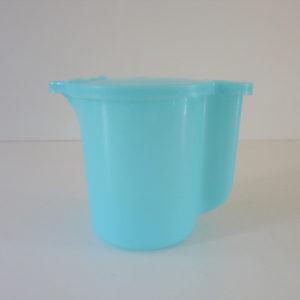 verseuse Tupperware bleue vintage