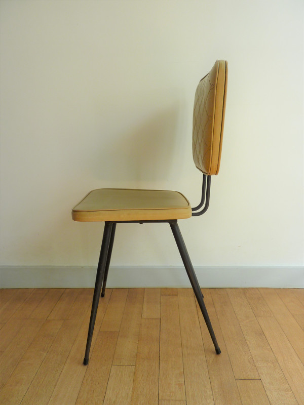 chaise ska moutarde feeb 39 s little shop. Black Bedroom Furniture Sets. Home Design Ideas