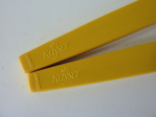 couverts vintage kayser jaune germany