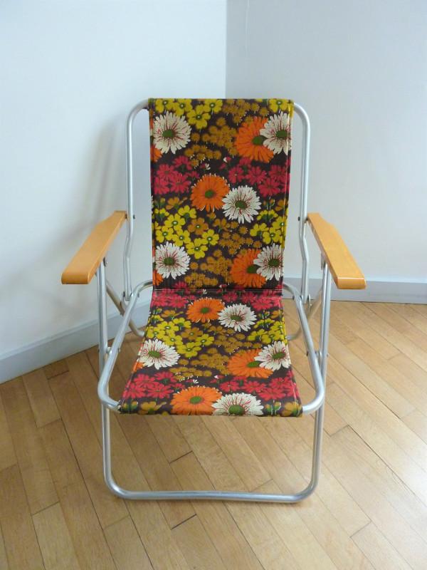 fauteuil pliant 70 s feeb 39 s little shop. Black Bedroom Furniture Sets. Home Design Ideas