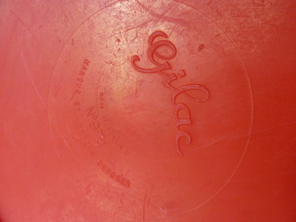 pichet broc gilac rouge vintage