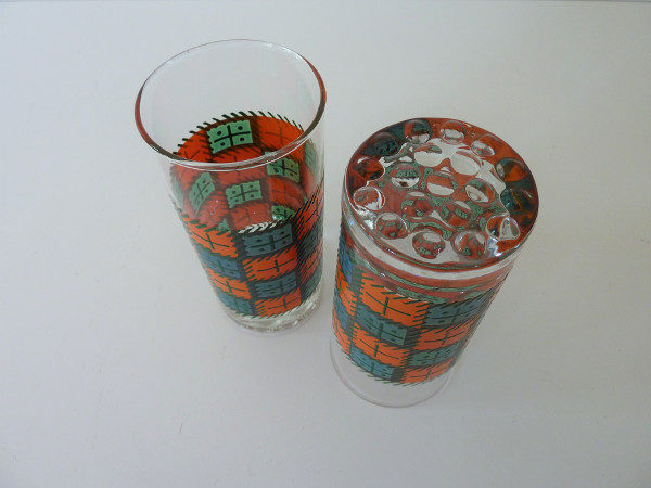 verres à cocktail seventies