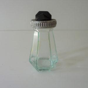 salière moulisel bakélite et verre ancienne