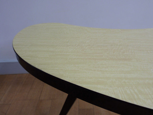 table haricot formica détail