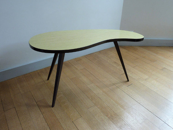 table haricot formica vintage