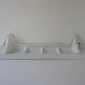 tablette porcelaine ancienne blanche marque française