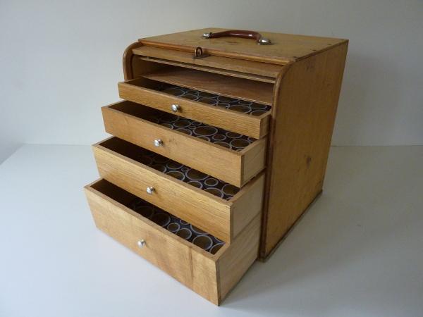 Petit meuble classeur volet feeb 39 s little shop - Classeur a papier meuble ...