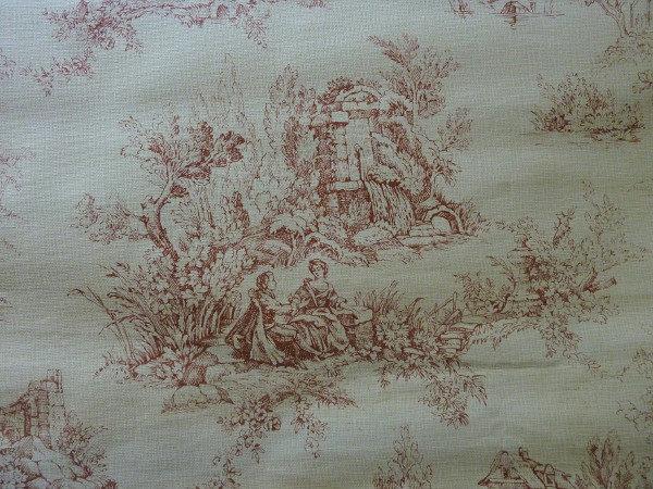motif toile de jouy papier peint ancien 2