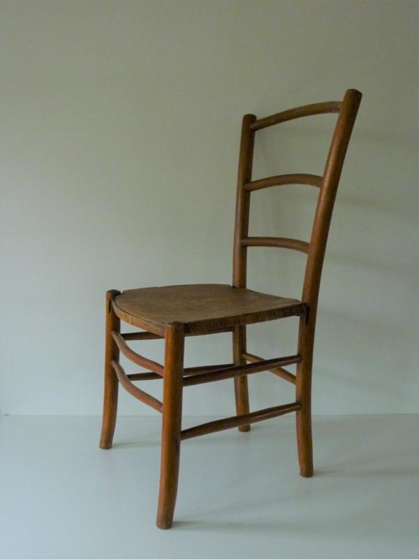 Chaise De Nourrice Ancienne En Bois 4