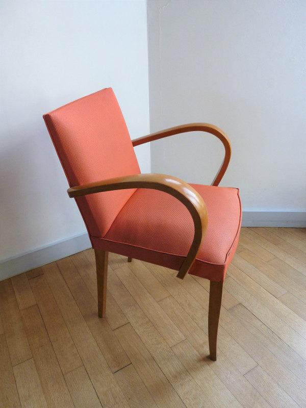 fauteuil bridge ancien années 50-60