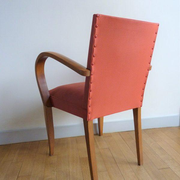fauteuil bridge ancien années 50-60 vintage