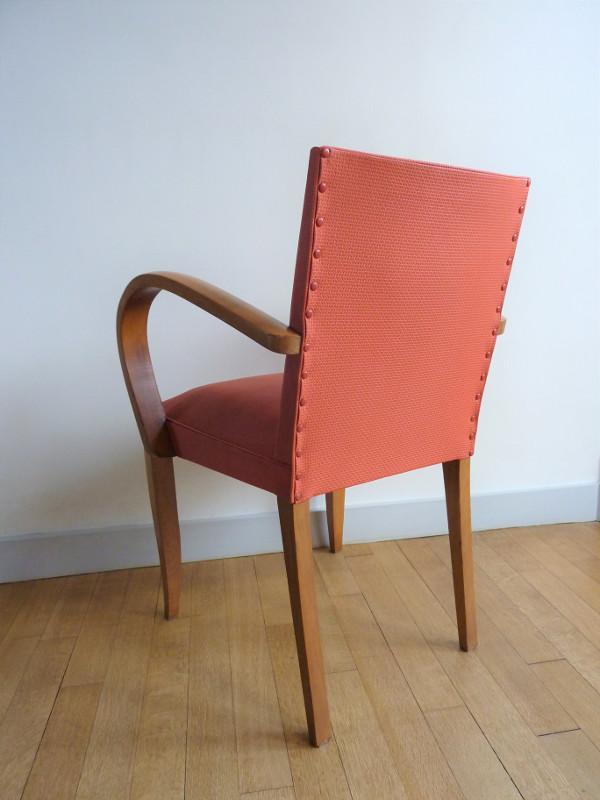 fauteuil bridge ancien ann es 50 60 vintage feeb 39 s little shop. Black Bedroom Furniture Sets. Home Design Ideas