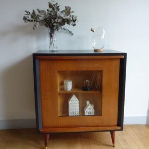 meuble bar pivotant vintage