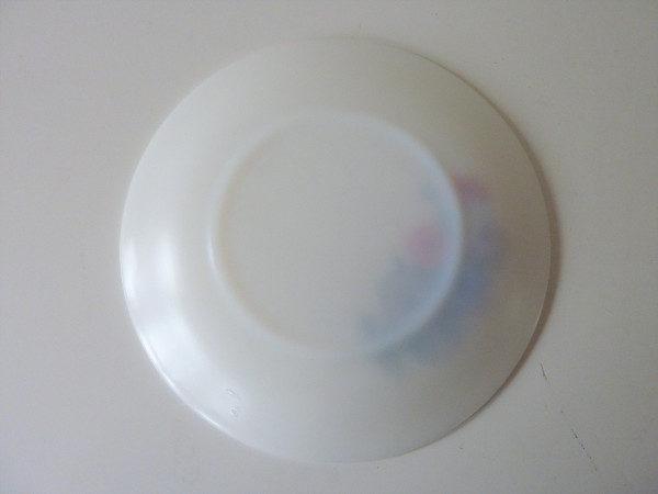 Assiettes Arcopal motif Liserons