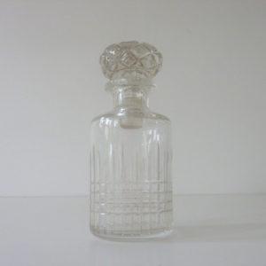 flacon ancien en cristal