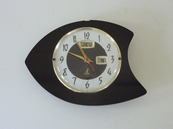 horloge murale jaz noire feeb 39 s little shop. Black Bedroom Furniture Sets. Home Design Ideas