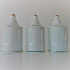 pots à épices porcelaine