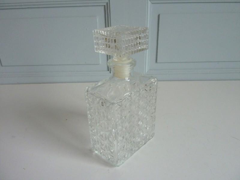 carafe whisky vintage forme rectangle