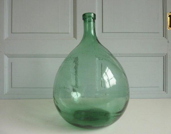 dame jeanne 10 litres ancienne verte