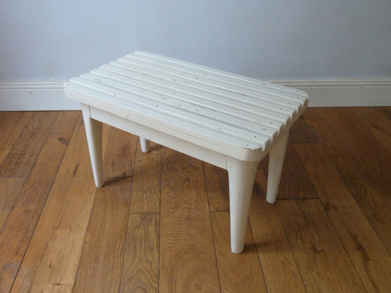 Petit Banc Blanc Feebs Little Shop