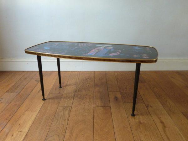 Table basse Geishas années 50_60
