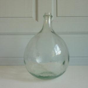 dame jeanne 6 litres transparente ancienne