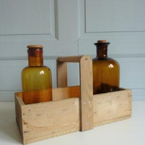 Ancienne caisse à outil en bois