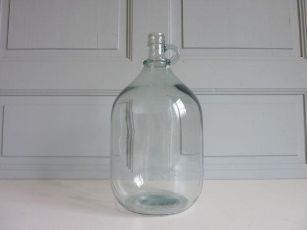 Bonbonne en verre ancienne