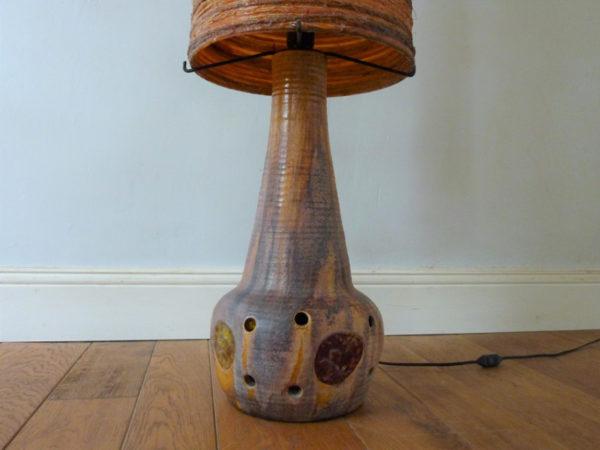 Lampe de sol Accolay vintage années 60 70
