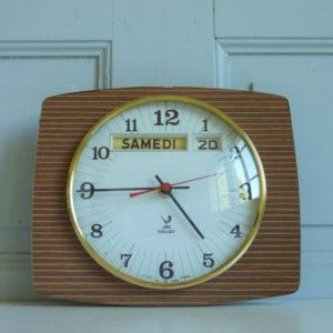 Horloge murale Jaz transistor formica