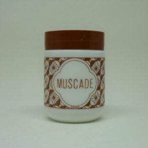 Pot Muscade opaline vintage