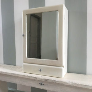 Armoire à pharmacie miroir 1 tiroir