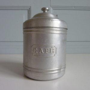 Pot ancien à Café en fer blanc