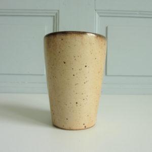 Mug grande tasse en grès vintage