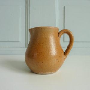 Pot à lait en grès céramique vintage