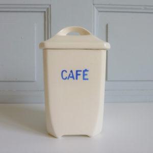 Pot à café décors bleus Porcelaine Bandonviller
