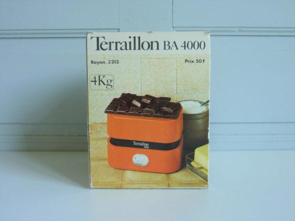 balance terraillon 4000 orange vintage